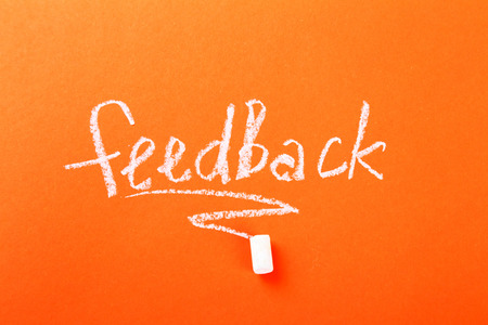 criticize: Study. The need of feedback