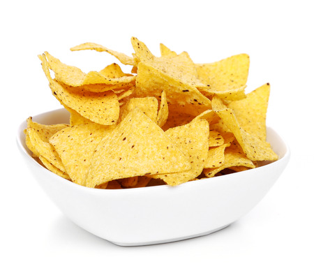 totopos: Potato chips on the table