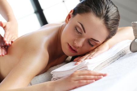 beauty resort: Beauty. Girl in the spa salon