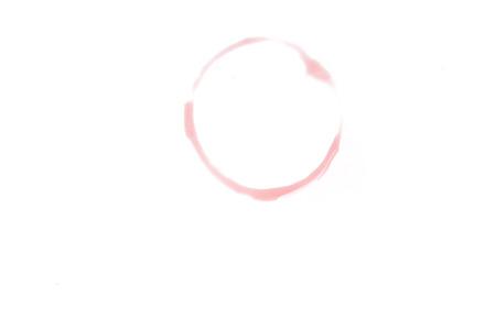 maldestro: macchia rotonda sul fondo bianco