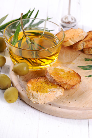 cooking oil: Cooking. Olive oil on the table