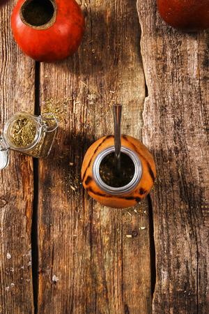 matte: Matte tea in calabash mug