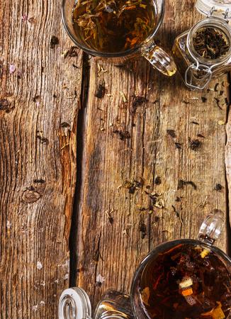 loose: Loose tea on the table Stock Photo