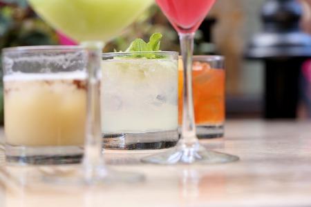 bebidas alcohÓlicas: Cóctel de la tabla