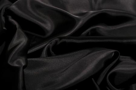 satiny: Piece of elegant, silk fabric Stock Photo
