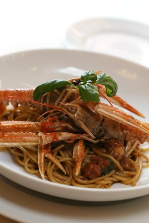 decapod: Delicious meal in the restaurant