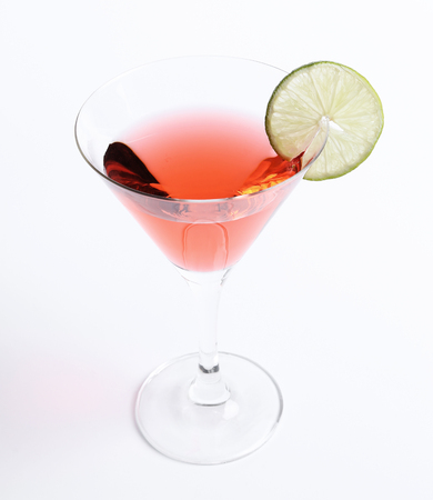 cosmopolitan: Alcohol. Cosmopolitan on the table Stock Photo