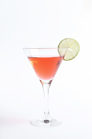 Alcohol. Cosmopolitan on the table Stock Photo
