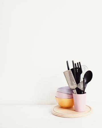 kitchen utensil: Cooking. Kitchen utensil on the table