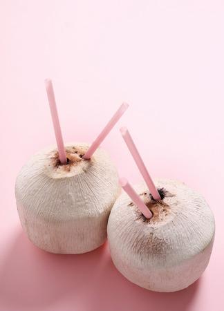 peeled: Food. Peeled coconut on the table