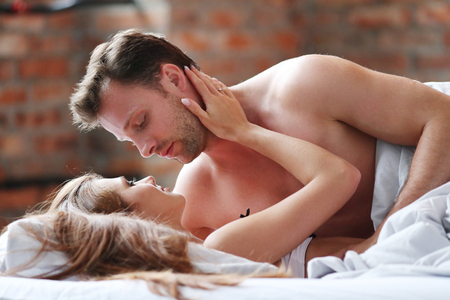 Relationship Lovely Couple In Bed Stock Photo Picture And Royalty New Lovely Couple Com