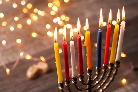 Hanukkah, the Jewish Festival of Lights Stock Photo - 64982634