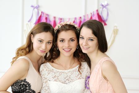 Team bride Stock Photo