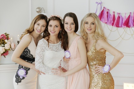 Team bride Stok Fotoğraf