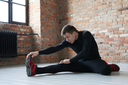 Man workout Stock Photo