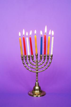 Hanukkahs candlestick