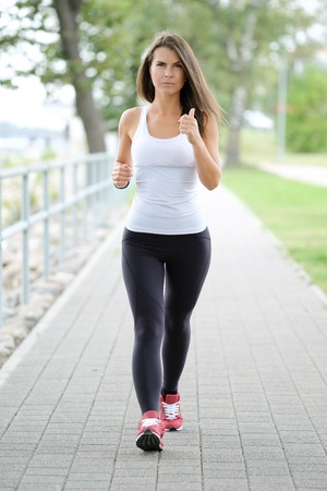 Workout on the street Stock Photo
