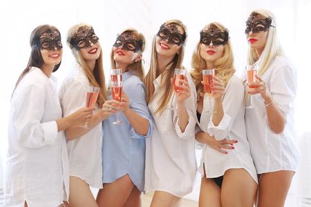 Bachelorette party Zdjęcie Seryjne