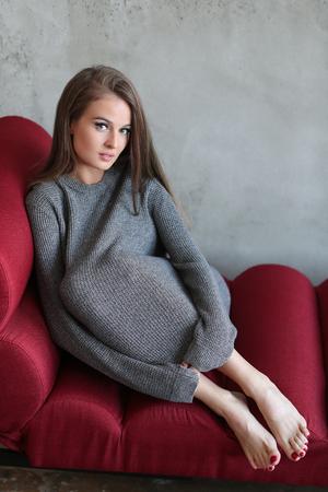 Beautiful woman Stockfoto