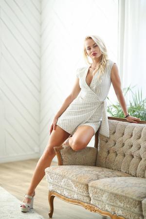 Blond woman