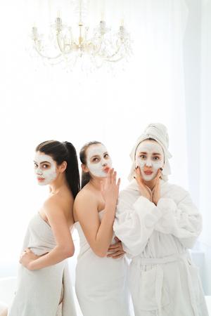 Women in spa Stok Fotoğraf