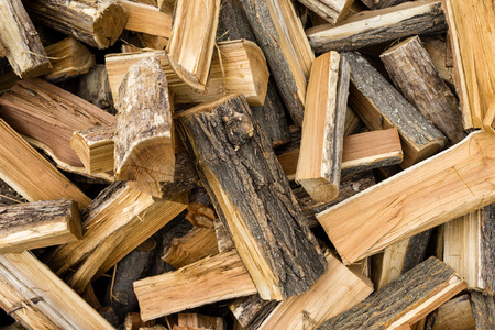 blanks: Firewood. Wooden blanks for heating in winter.