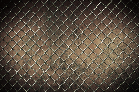 seamless tileable chain link fence wall in background