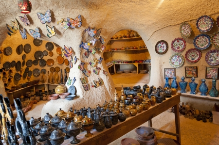 Ceramic works in Cappadocia Turkey photo