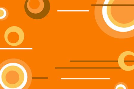 midcentury: orange retro background