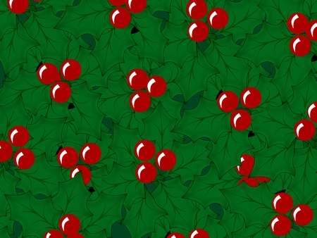 rd: red x-mas berry pattern