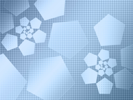 circumference: hi-tech abstract background,blue Stock Photo