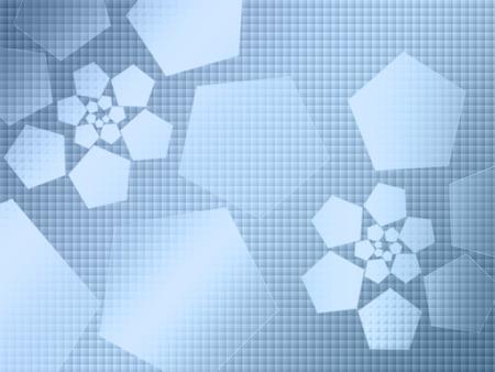 hi-tech abstracte achtergrond, blauw