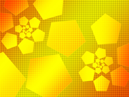hi-tech abstract background,orange photo