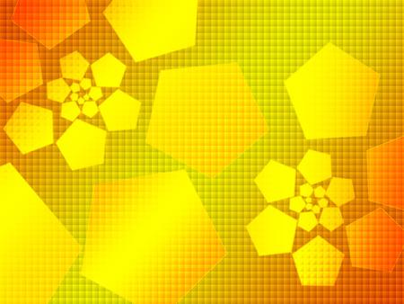 hi-tech abstract background,orange