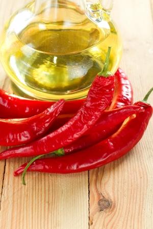 Red hot chili sauce photo