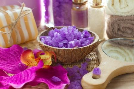 sud: Aromatic spa set with sea salt