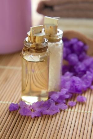 sud: Aromatic spa set with sea salt and oil