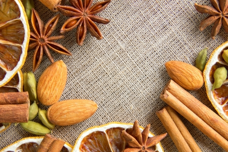 mulled: Aromatic spices