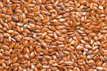 flaxseed: Flax seeds background