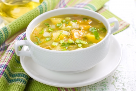 green cabbage: Soup