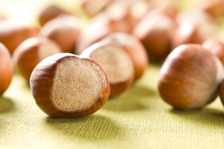 unbroken: Hazelnuts (filbert)
