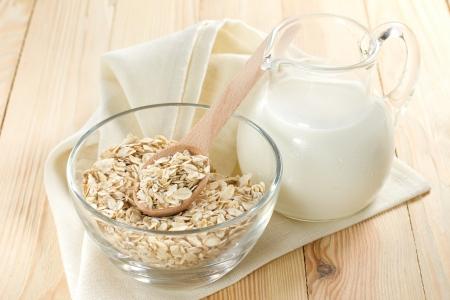 牛乳とコーンフレーク