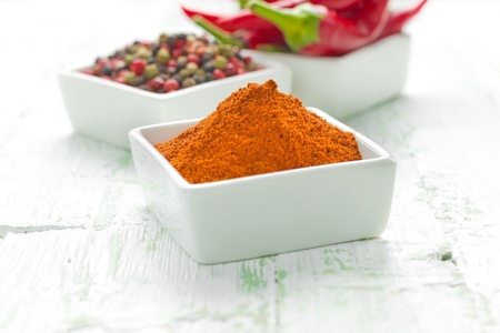 cayenne: Red hot chilli peppers