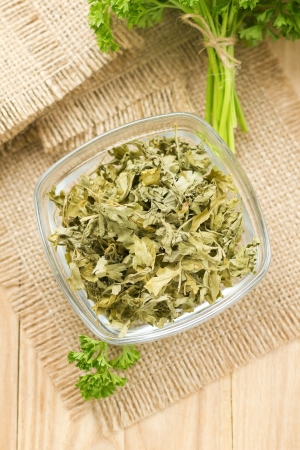 Dried parsley Stock Photo - 15860697