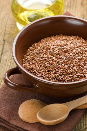 flaxseed: Linseed oil and flax seeds