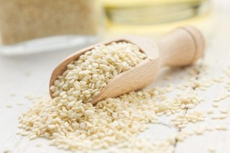 sesame seed: Sesame seeds and oil
