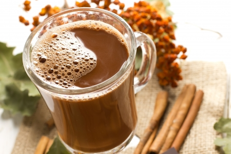 hot chocolate drink: Cocoa