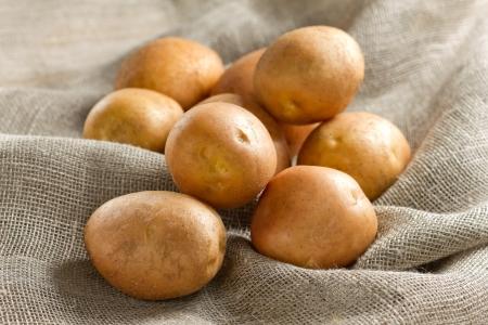 earthy: Potato Stock Photo