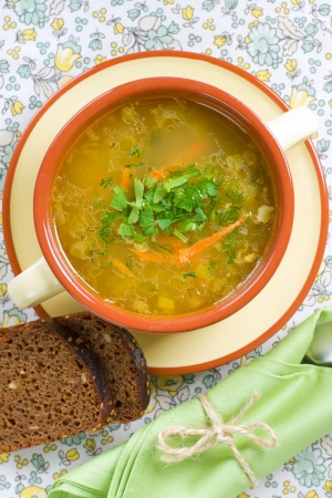 potato soup: Vegetable soup