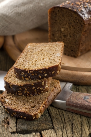 Black bread with sesame seeds Stock Photo - 15910144